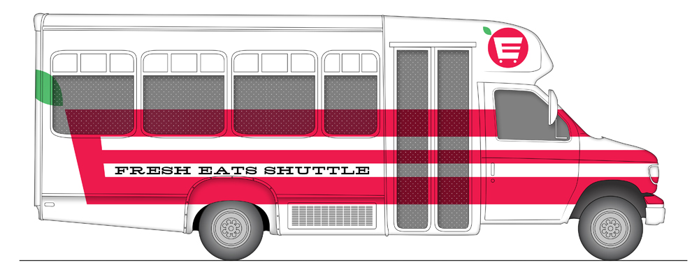 Fresh Eats Food Shuttle—Redefining Food Deserts