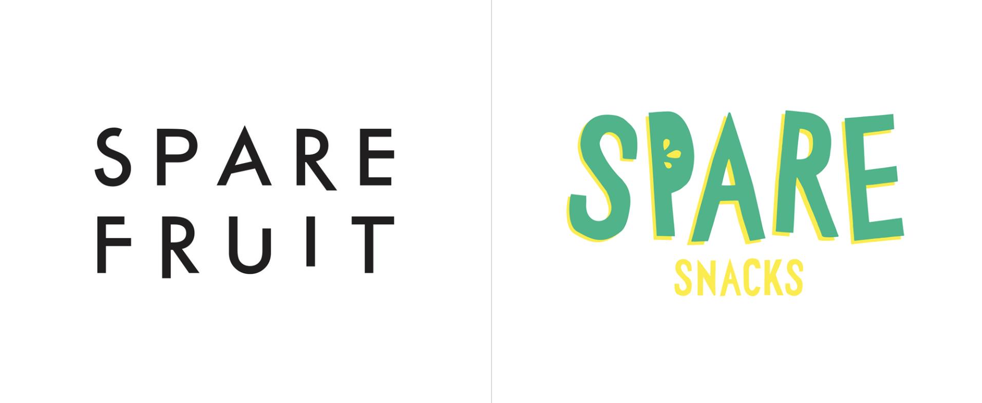 Spare Snacks Rebrand