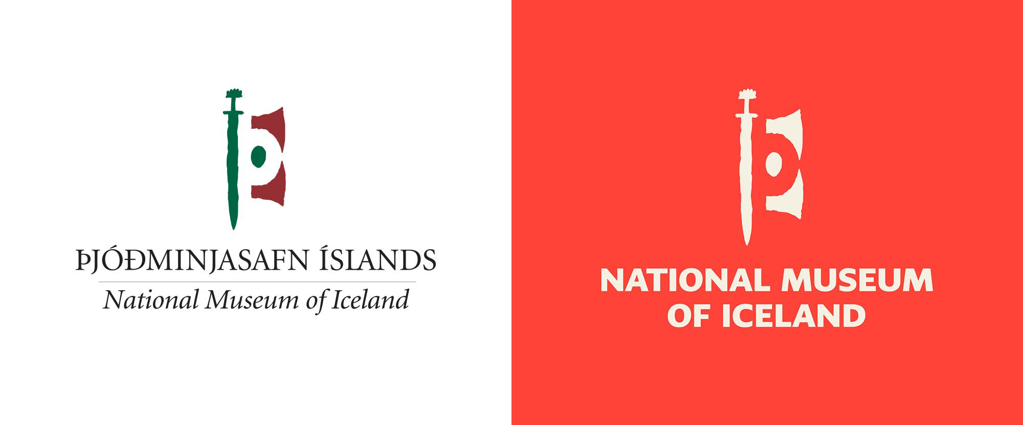 National Museum of Iceland Rebrand